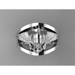 Gold US Navy Aviator Ring